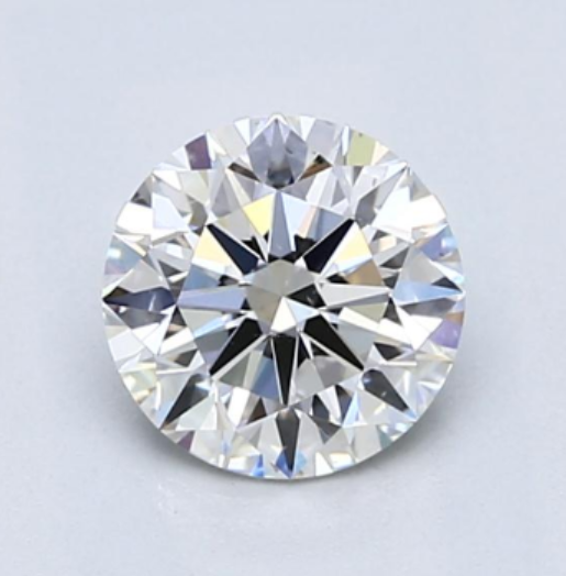 1 Carat F VS2 Round Brilliant Cut Diamond Image